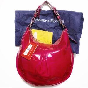 DOONEY & BOURKE MAGENTA HOBO BAG